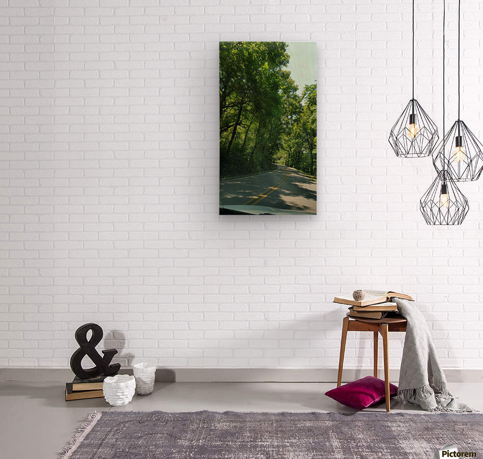 The Countryside  Wood print