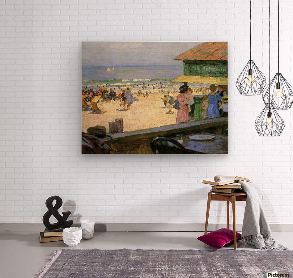 Beach Scenes  Wood print