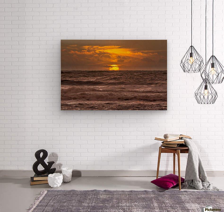 Fire & Water III  Wood print