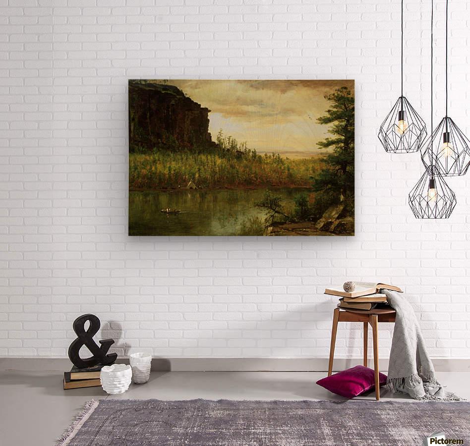 Landscape near Fort Collins  Wood print