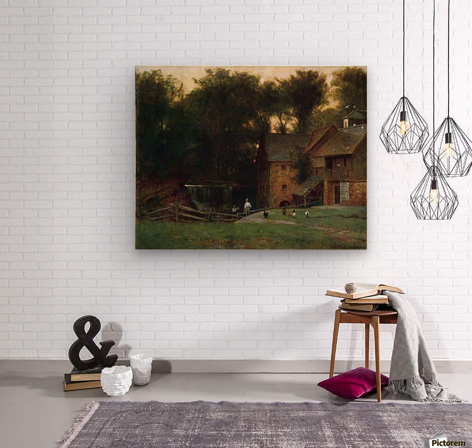 The Mill, Simsbury  Wood print