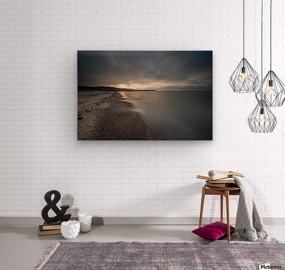 Belle Cote Beach at Sunset  Wood print