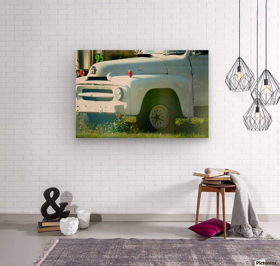 Old Truck 2  Impression sur bois