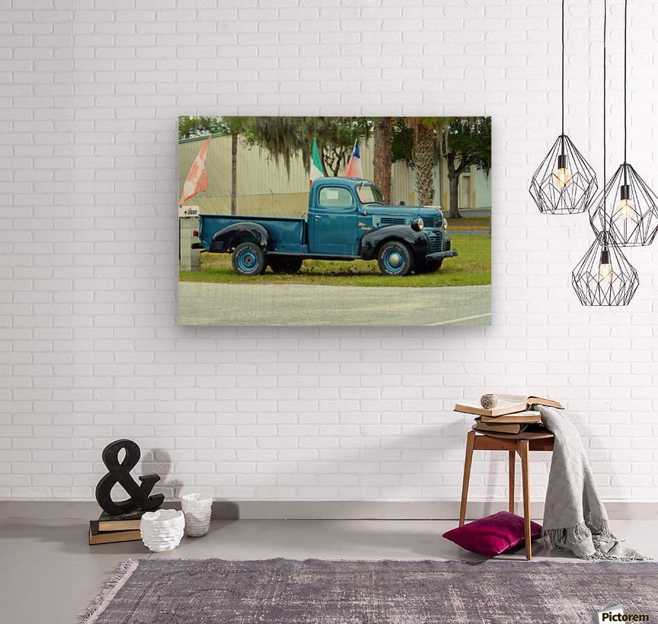 Old Truck  Impression sur bois