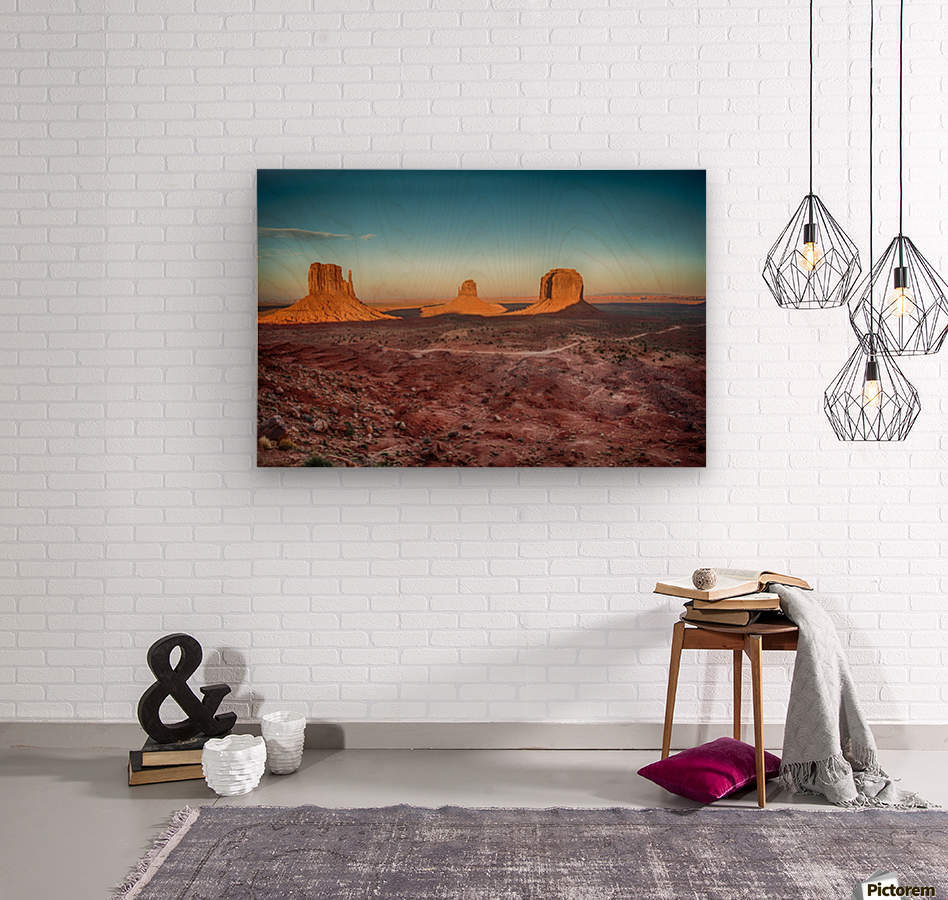 Monument Valley HDR (16 of 21)  Wood print