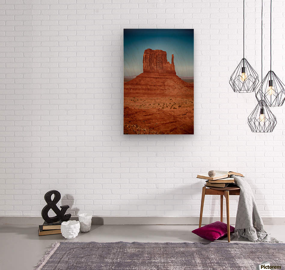 Monument Valley 4  Wood print