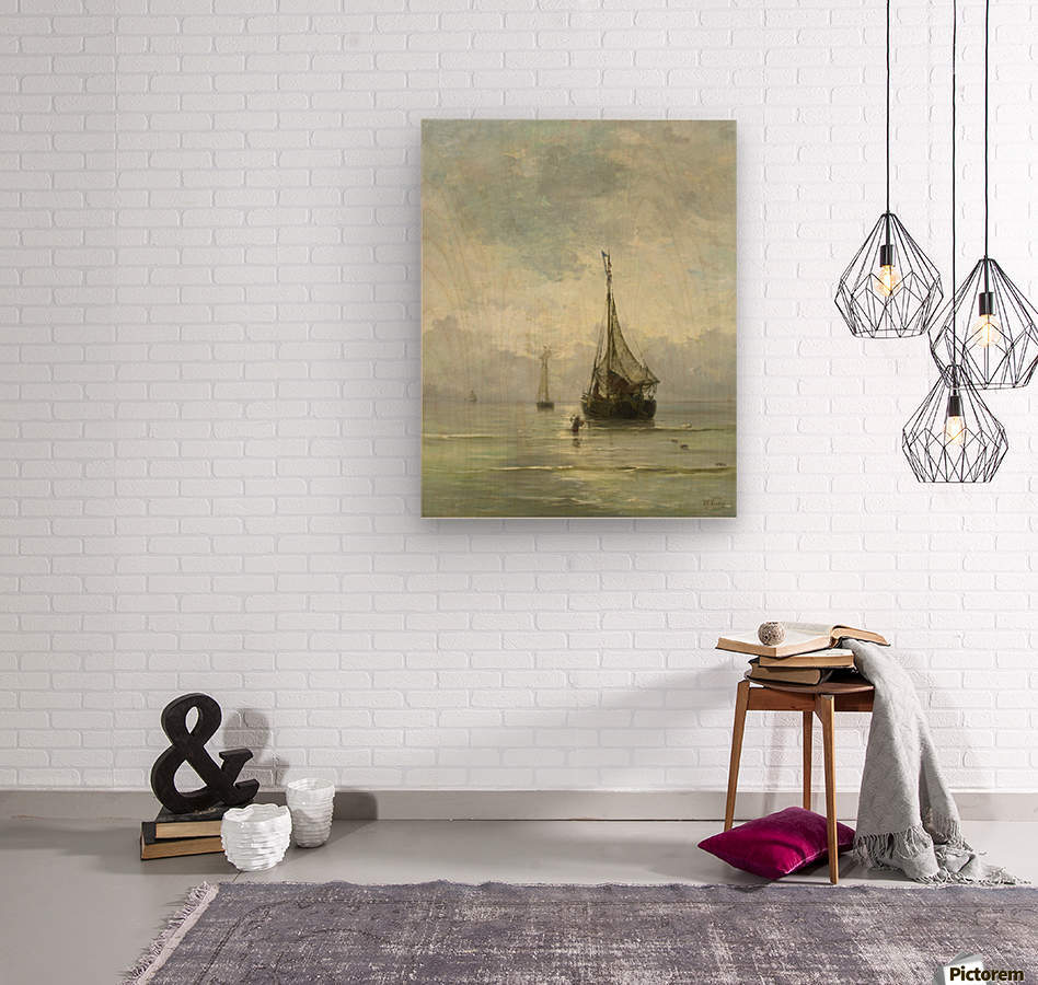 Kalme zee  Wood print