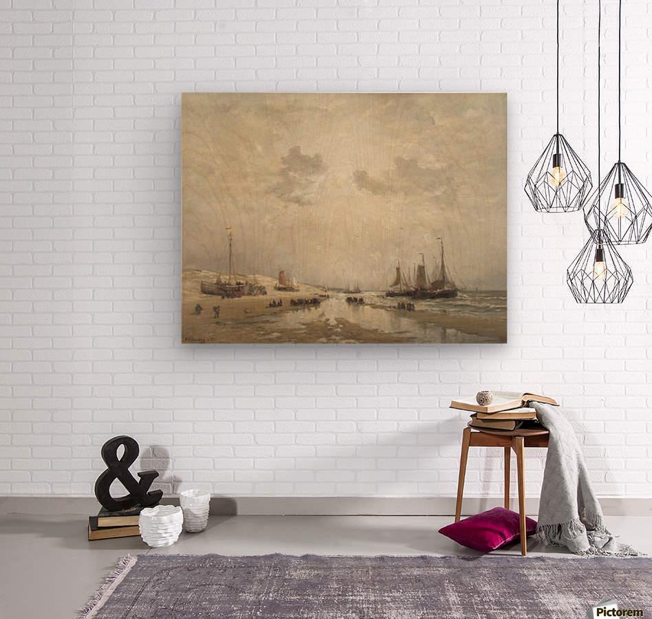 Manana en Scheveningen  Wood print