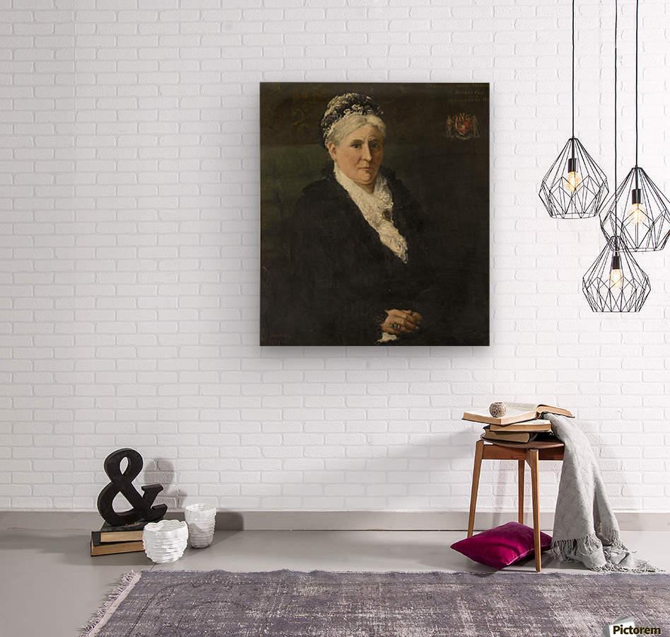 Maria Hermina Heemskerk  Wood print