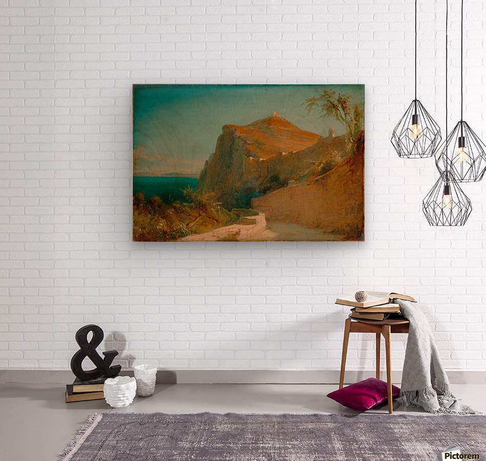 Tiberiusfelsen auf Capri  Wood print