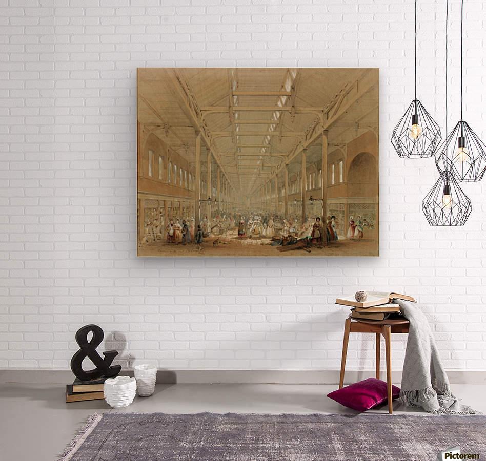 Newcastle great hall  Wood print