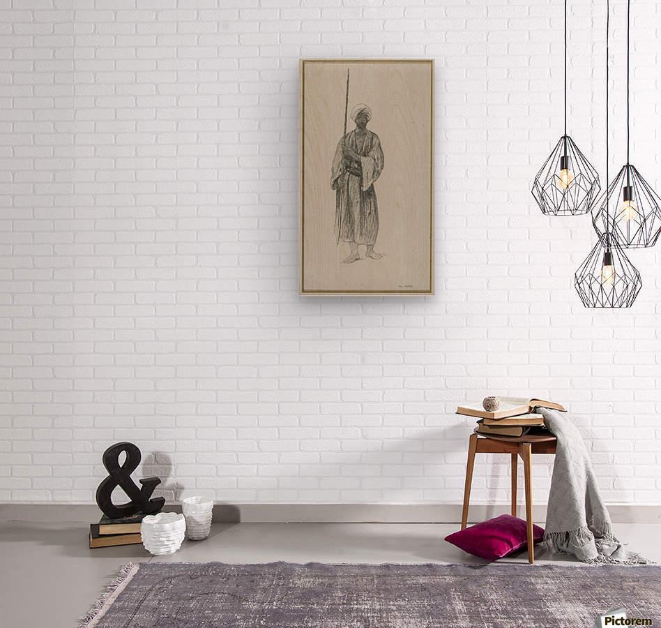 Arab sentinel  Wood print
