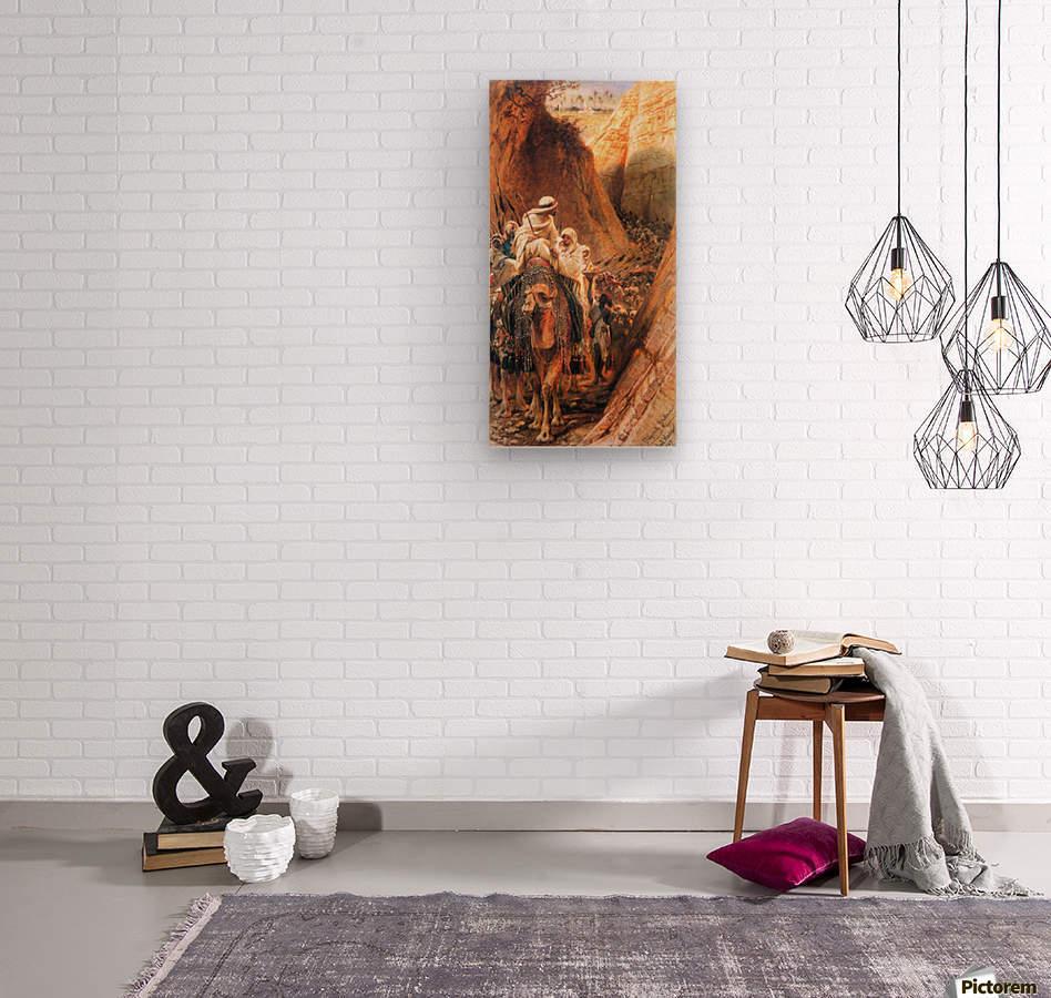 Oryantal Tabolar  Wood print