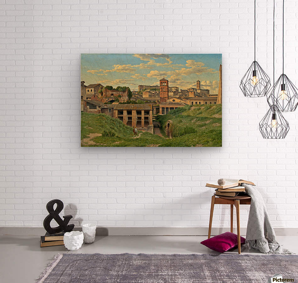 View of the Cloaca Maxima, Rome  Wood print