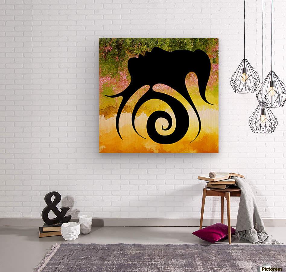 Miranillia - spring beauty  Wood print