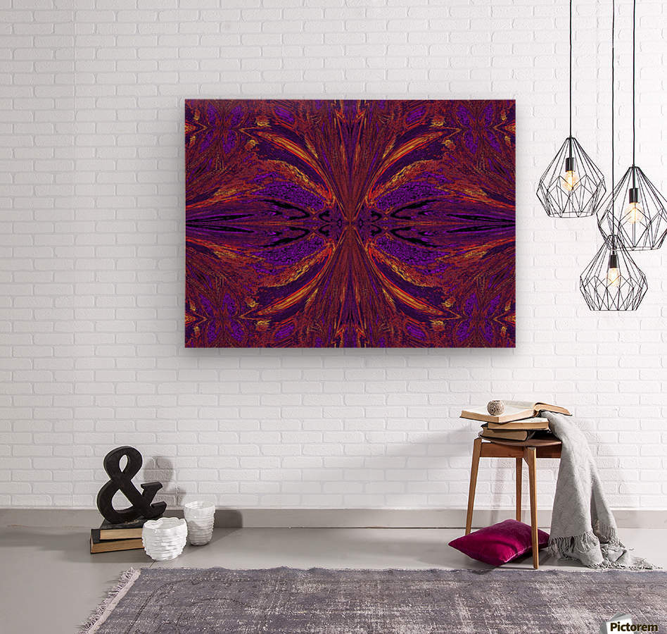 Butterfly Flight  Wood print