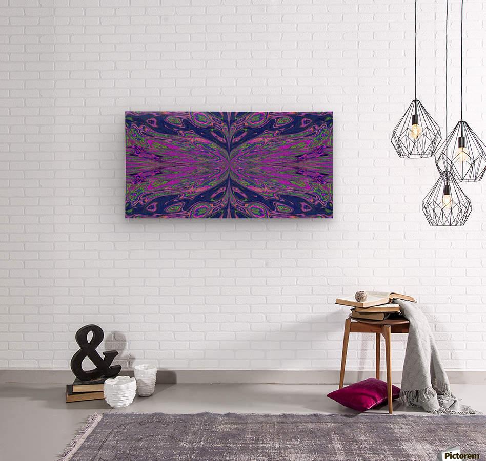 Queen of the Butterflies 4  Wood print
