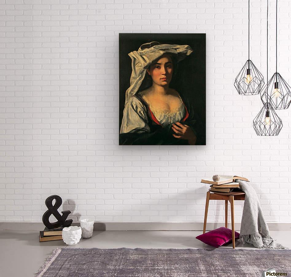 The royal lady  Impression sur bois