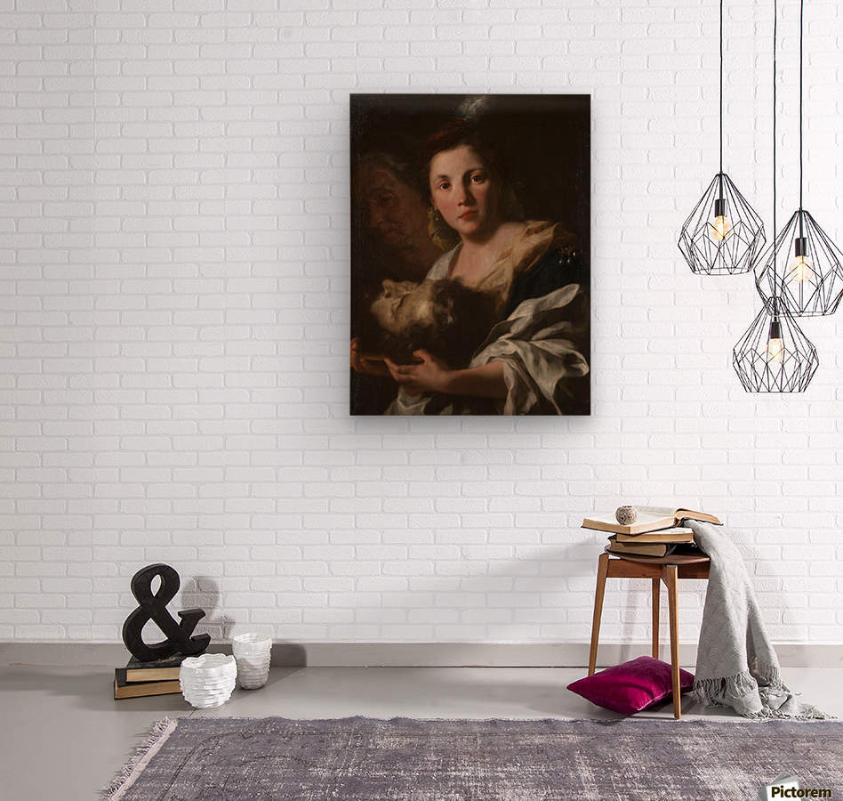 Judith with the head of Holofernes  Impression sur bois