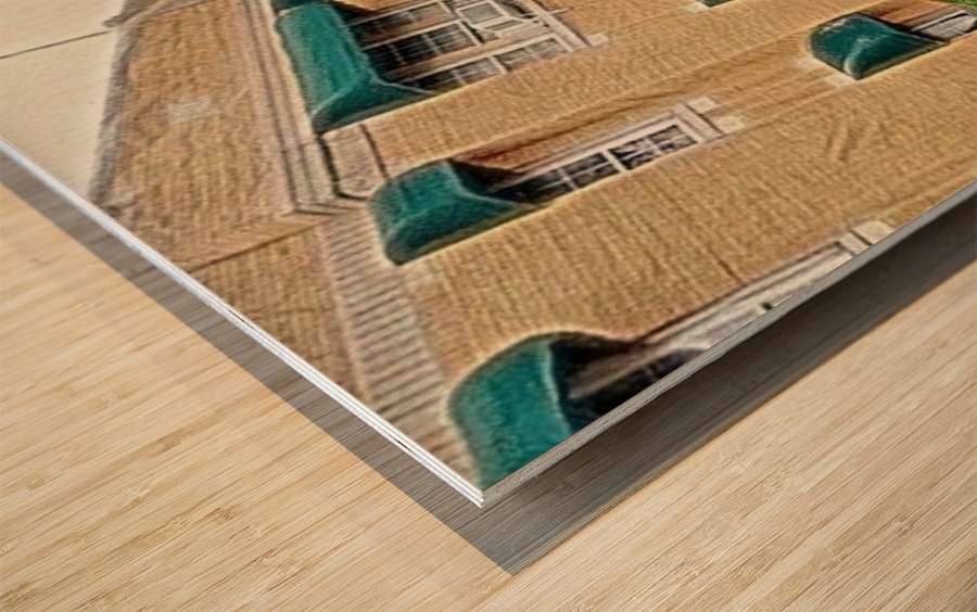 Jesus House OKC Wood print