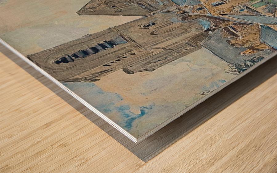 Paris, Null Wood print