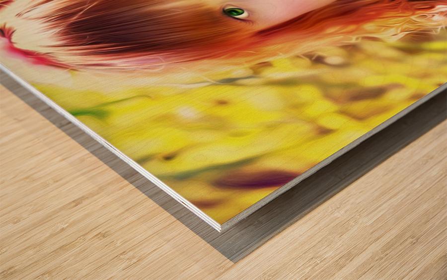 JesusEyes Wood print