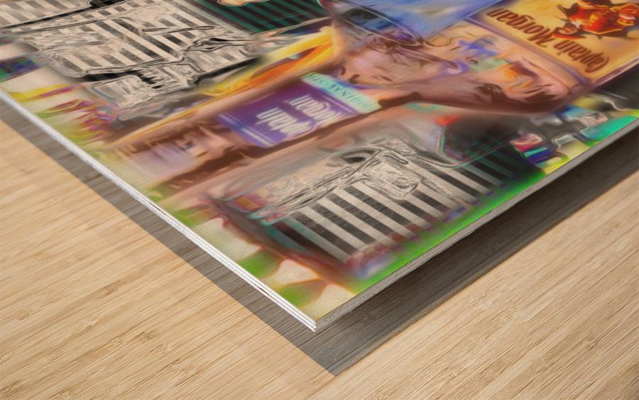 TheBasement Wood print