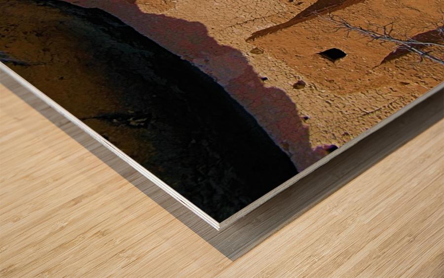 Montezuma's Castle-4 Impression sur bois