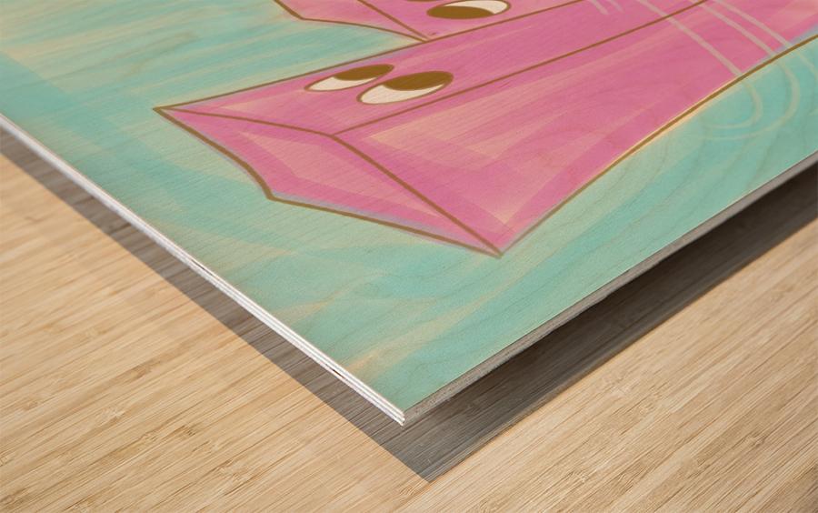Mutual Wood print