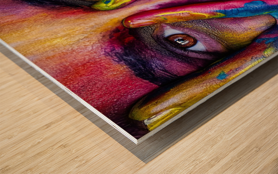 mejk Wood print