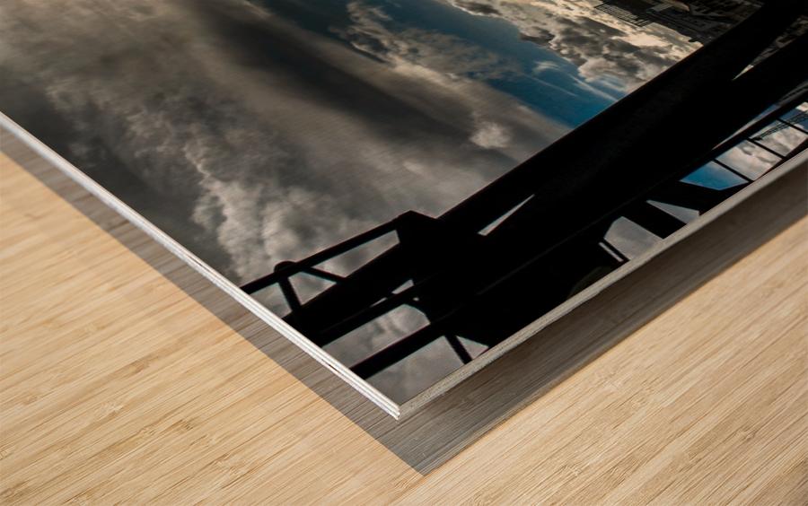 London Dramatic Sky - UK Wood print