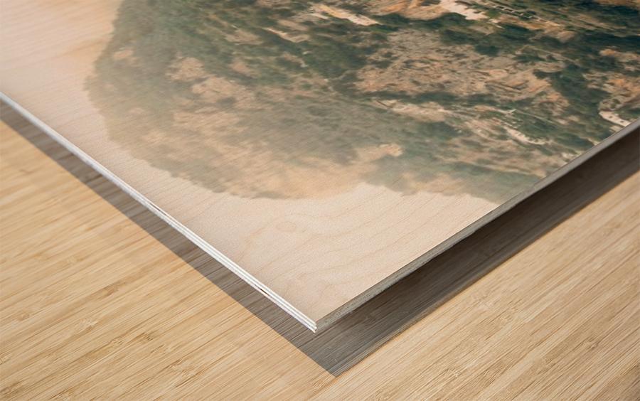 Panoramic Positano - Amalfi Coast - Italy Wood print