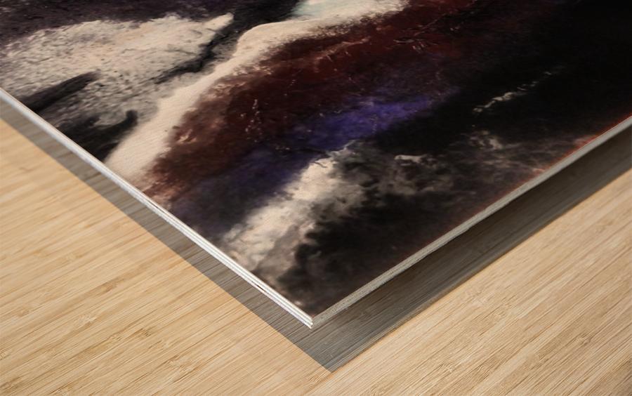 Odyssey Abstract Artwork Wood print