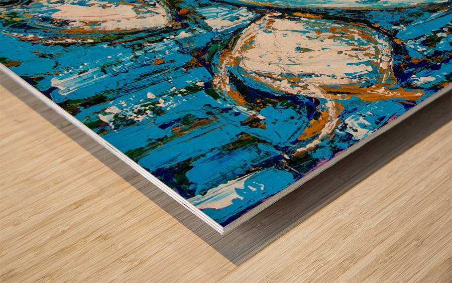 Flow Of Dreams-2 - 18 inch x 18  Wood print
