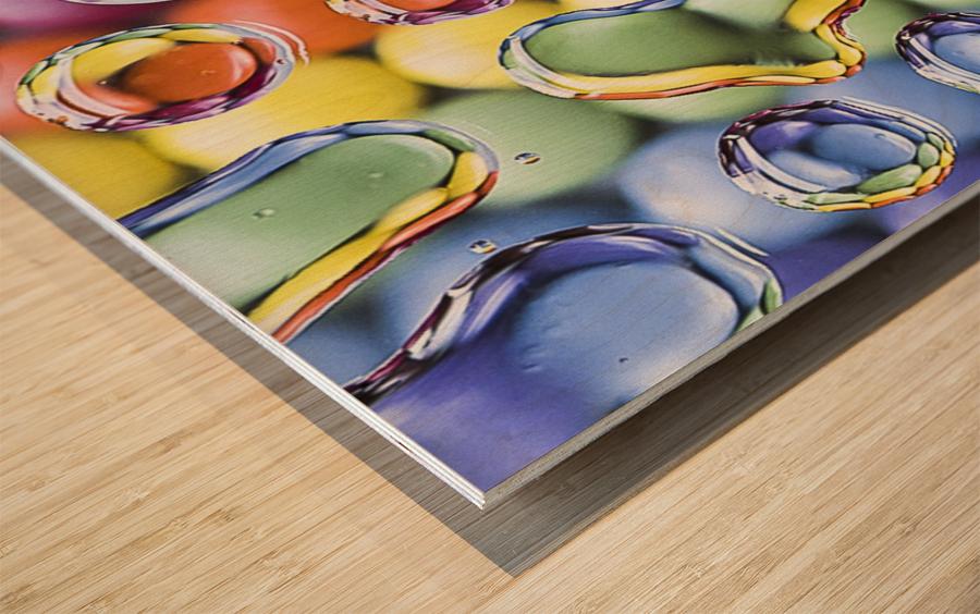 Smarties Wood print