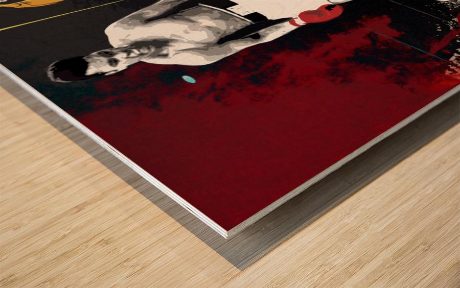 Ali Wood print