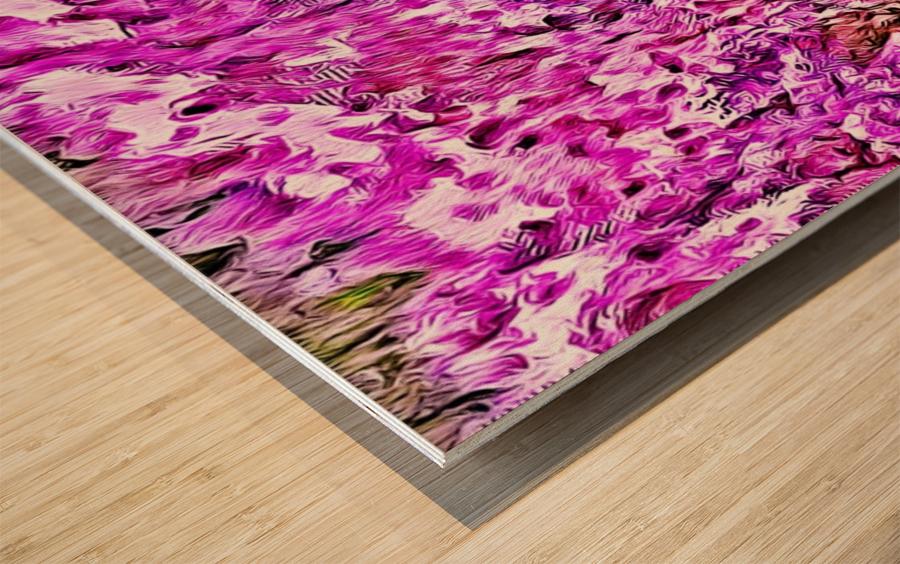 Love Noise Wood print