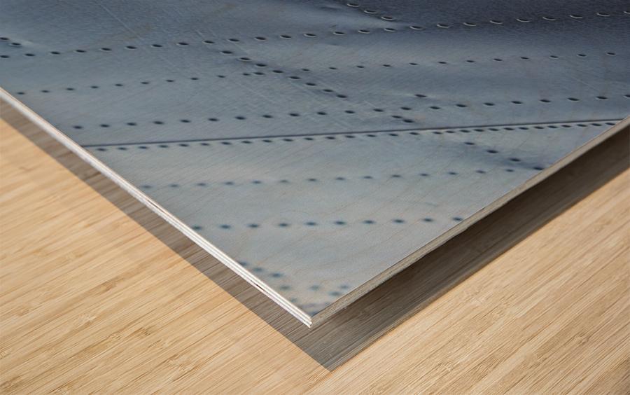 Flap Wood print
