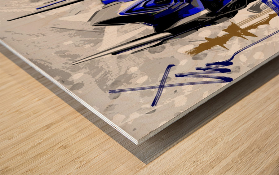 Prime X Wood print