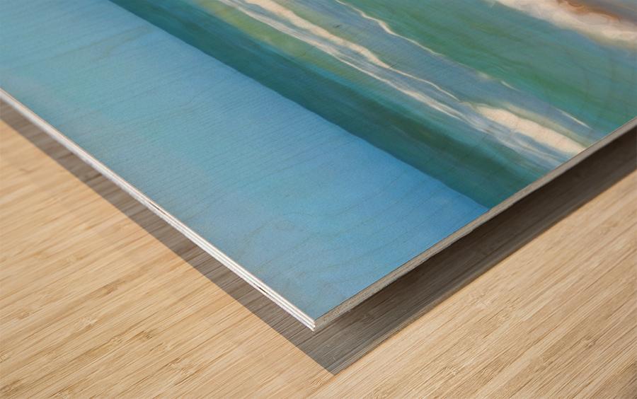 Surfs Up Wood print