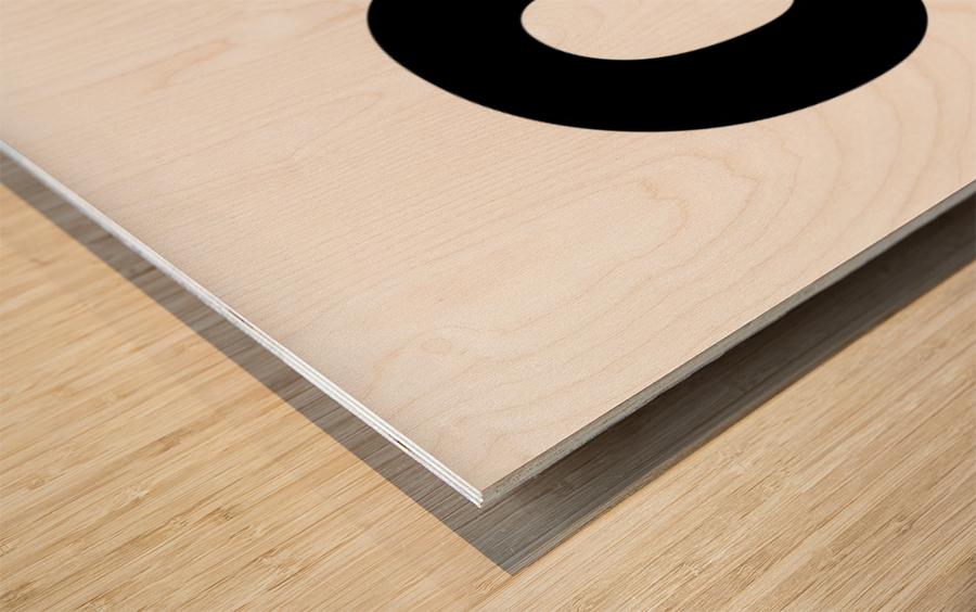 OMFG Wood print