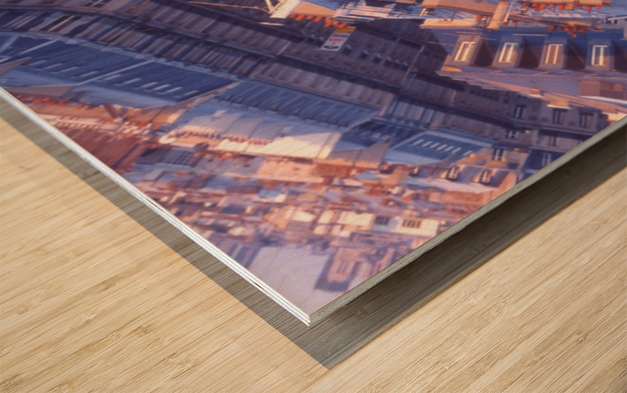 PRINTEMPS APRESMIDI Wood print