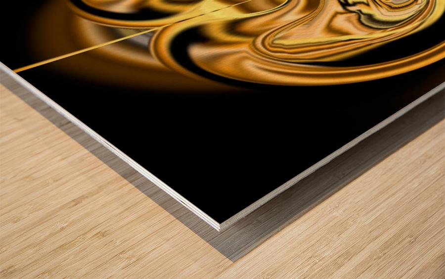 GoldTone2 Wood print