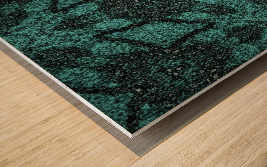 Art of the Green Flacks Wood print