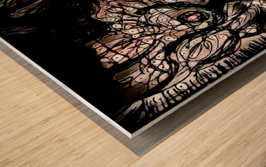 nowerind Wood print