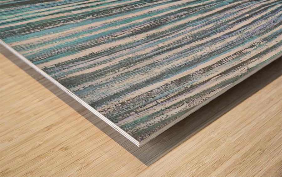 nervure Wood print