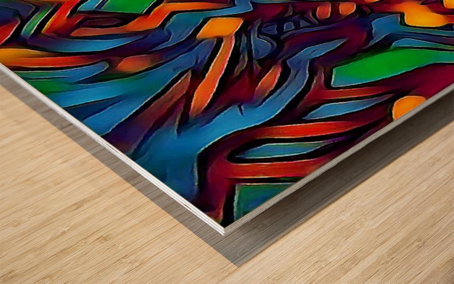 ubojofaz Wood print