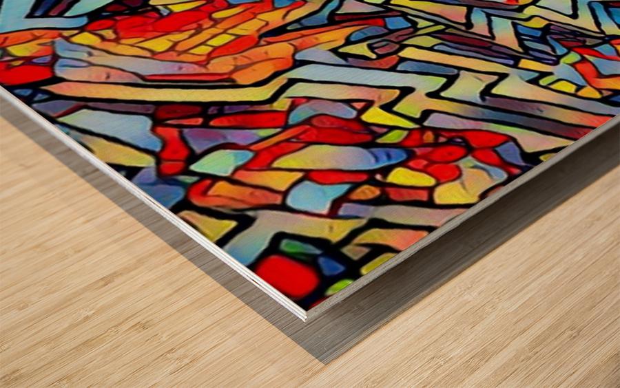 helles Wood print