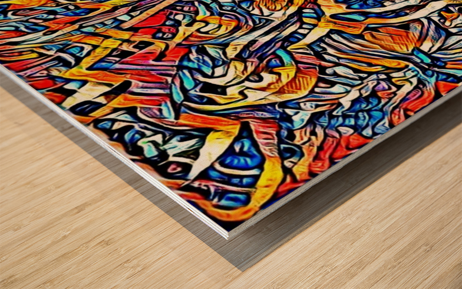 amolerd Wood print