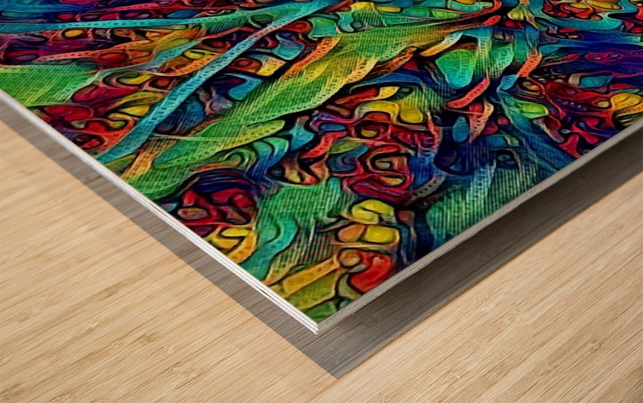 coeyer Wood print